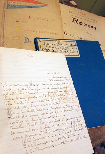 handwritten notebooks